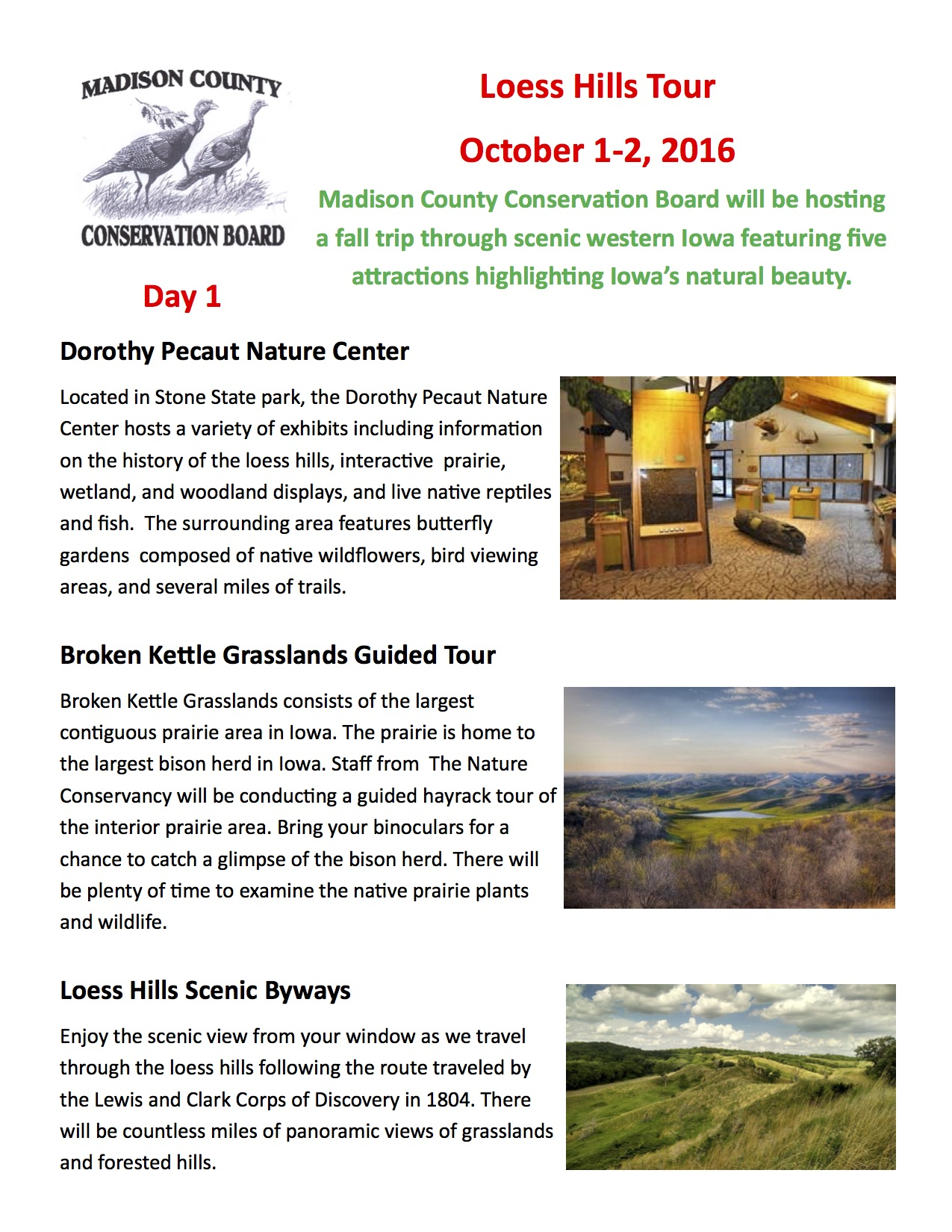 Loess Hills Tour Registration Packet-pg1