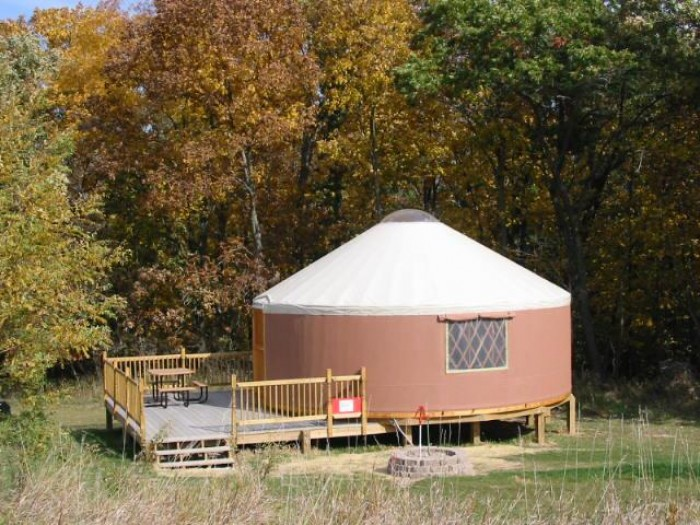 Yurt Cabins - Madison County Parks
