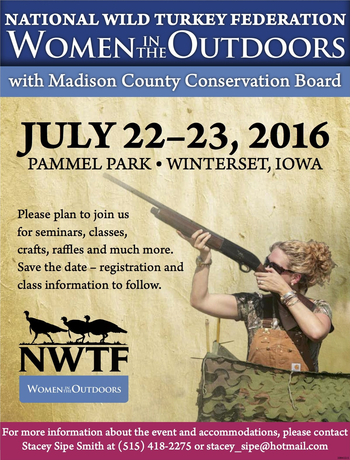 Women in the Outdoors event Save the Date