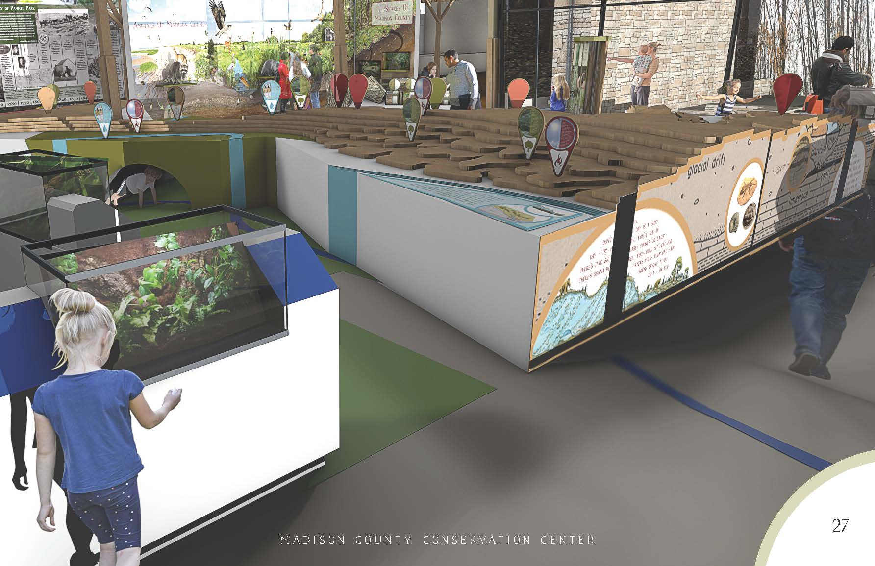 Proposed Nature Center Madison County Parks